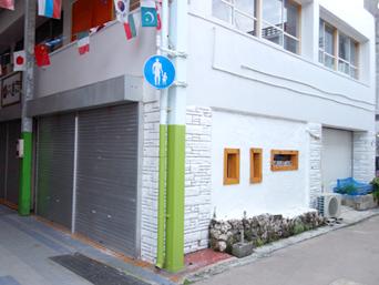 石垣島のタコライスカフェ  ビーチ/BEACH@石垣島「お土産屋が少ない方のモールの角にあります」