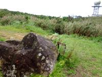 石垣島の於茂登岳からの景色1(鉄塔側)