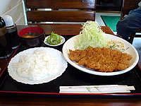 石垣島のとんかつ 力の写真