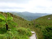 石垣島の於茂登岳からの景色2(ダム側)