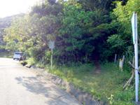 石垣島の野底マーペー/野底岳 - 野底林道からの登山口