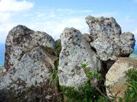 石垣島の野底マーペー頂上の写真