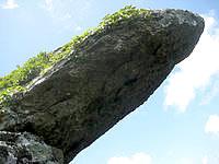 石垣島の屋良部岳頂上の写真