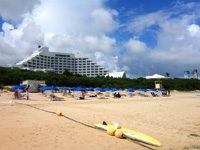 石垣島のマエザトビーチ/人工ビーチ - 離島まで来て人工ビーチだけだとちょっと・・・