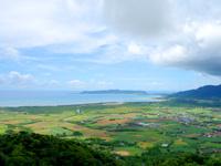 石垣島の渡り鳥観察所/展望台 - 名蔵側の景色はなかなか