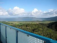 石垣島のエメラルドの海を見る展望台 - 名蔵湾も望めます