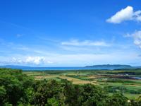 石垣島の名蔵遠見台の写真