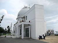 石垣島の石垣島天文台 - 建物はコンパクトです