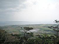 石垣島の石垣島天文台 - 天文台は高台にあるので景色はなかなか