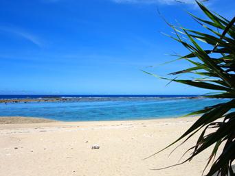 加計呂麻島の徳浜海岸