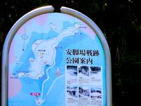 加計呂麻島の安脚場戦跡 - 砲台跡もあります