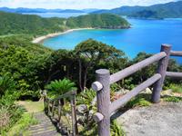 加計呂麻島の安脚場戦跡 - 遊歩道も整備されていて歩きやすい