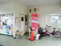 加計呂麻島の生間港 - シェアサイクルが有り瀬相で乗り捨ても可能