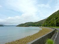 加計呂麻島の知之浦