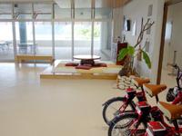 加計呂麻島の加計呂麻島展示・体験交流館/いっちゃむん屋 - シェアサイクルもあるけど普通は港で借りる