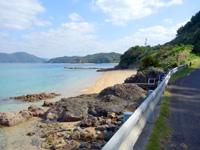 加計呂麻島のおみにゃかいだん/ビーチ - 小さなビーチもありました