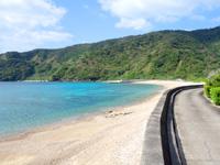 加計呂麻島の須子茂の海 - ビーチも素朴でのんびりできる