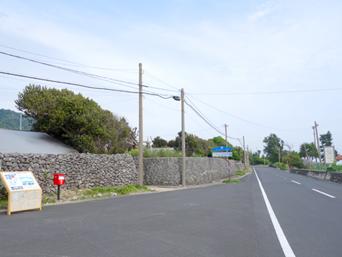 阿伝 サンゴの石垣