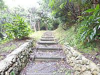 喜界島の平家森 - 結構登ります