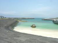 喜界島の小野津漁港公園