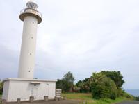 喜界島のトンビ崎灯台