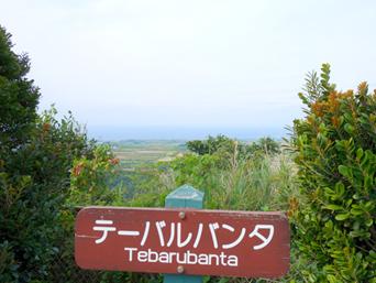 浦原の展望台
