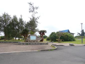 喜界島の塩道長浜公園「喜界島東岸にある海浜公園的な場所」