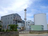 北大東島の北大東島製糖工場/北大東製糖