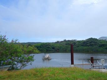 北大東島の赤池