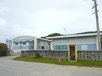 北大東島の海水淡水化施設/海水プール