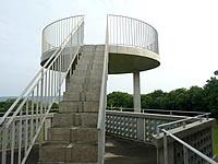 北大東島のハマユウ荘展望台