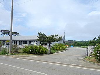 北大東島の月桃加工施設