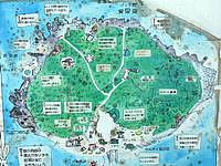 嘉弥真島の嘉弥真島/嘉弥間島/カヤマ島 - 嘉弥真島マップが島にあります