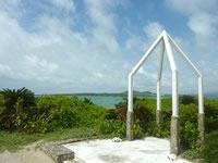 嘉弥真島の嘉弥真島/嘉弥間島/カヤマ島 - こんなモニュメントもあります