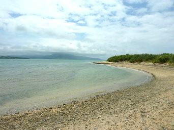 東海岸/小石の浜