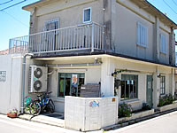 小浜島の喫茶やしの木