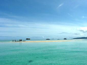 浜島の浜島/幻の島:小潮「小浜島の北東にある砂がメインの島」