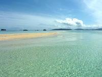 浜島の浜島/幻の島:小潮 - 潮があまり引かない方が海はキレイ