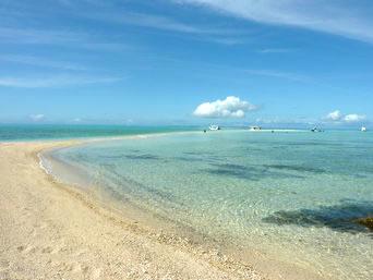 浜島の砂浜:小潮