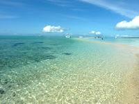浜島の浜島南の海:小潮 - 岩場側から見るのがおすすめ