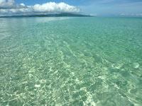 浜島の浜島の潮目:小潮 - 下は砂地で深さはかなり変化する