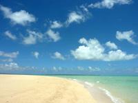 浜島の砂浜:大潮