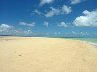 浜島の浜島の砂浜:大潮 - 砂がとてもキレイ!
