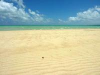 浜島の浜島の砂の大地:大潮 - 砂だけの島は幻想的
