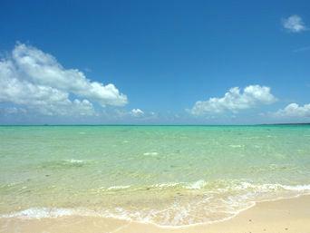 浜島の南の海:大潮