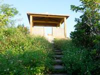 大岳の展望台/小浜節の碑