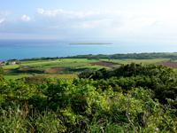 小浜島の大岳展望台からの景色
