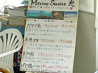 小浜島のマリンサービス光 - ツアーメニュー
