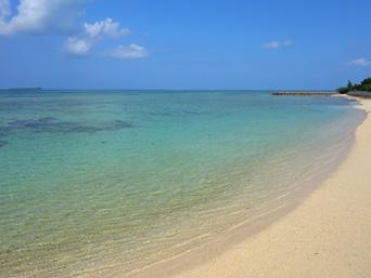 細崎北側のビーチ