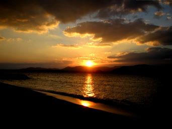 細崎の夕日